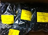 LOT 100 TR413 Snap-in Tire Valve Stems Short Black Rubber Most Popular Valve