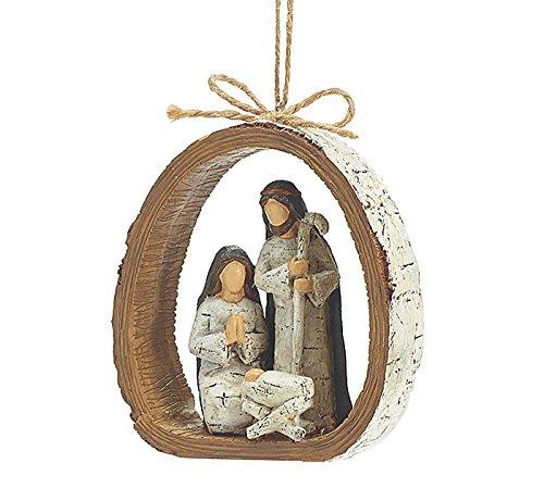Burton and Burton Holy Family Resin Ornament
