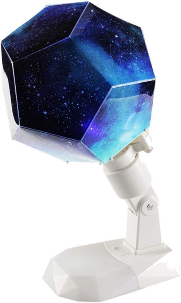 Lámpara proyector de estrellas, luz nocturna de música rotación de ...