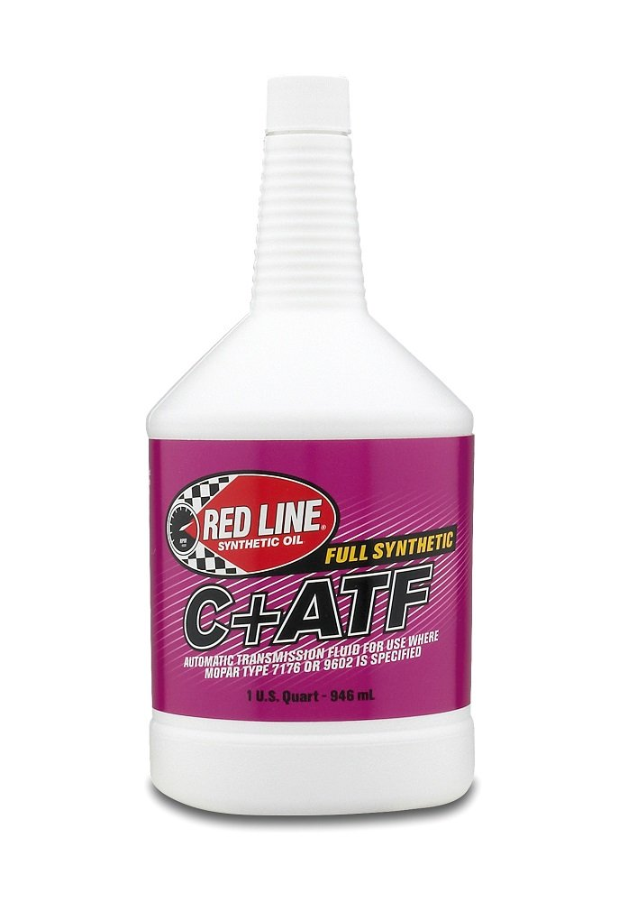 Red Line 30604 C+ Automatic Transmission Fluid (ATF) - 1 Quart, (Pack of 12) by Red Line Oil