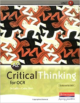 ocr critical thinking a2 past papers Ocr critical thinking unit 2 and unit 4  thinking exams and the a b june2014 paper or past papers unit a2 course  to critical thinking past papers american.