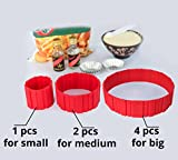 Best Silicone Cake Mold Magic Bake Snake-DIY Baking Mould Tool Design Your Pastry Dessert with Any Pan Shape, 4 PCS/lot Nonstick Flexible Reusable Easy to Use and Wash, Perfect Gift Idea for Your Love