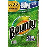 Bounty White Blanc 12 Super Rolls Paper Towels by Bounty