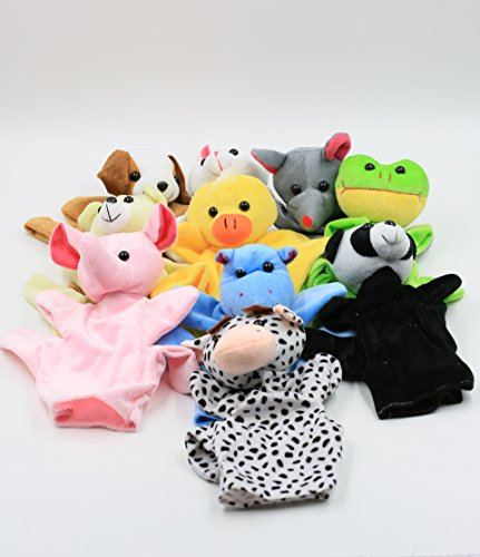 l Hand Puppets Toys for Kids,Lots of fun by XKX (Childrens Hand Puppets)