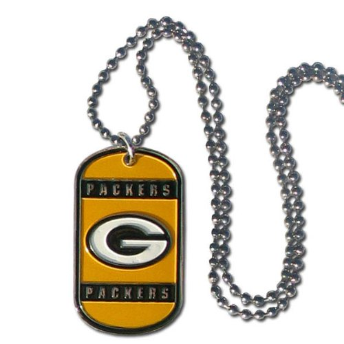 NFL Green Bay Packers Dog Tag Necklace ()