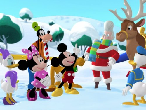 Mickey Saves Santa (Sleigh Mickey)