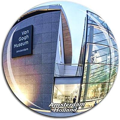 Weekino Museo Van Gogh Ámsterdam Países Bajos Holanda Imán de ...