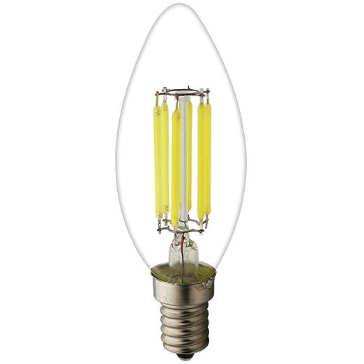 1 pieza C35 E14 LED Velas lámpara 6 W, 45 W bombillas similar, 6000