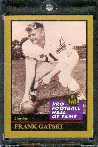 1991 ENOR Football Hall of Fame Football Card #44 Frank Gatski