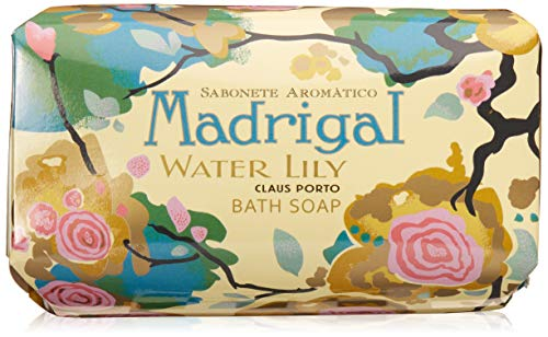 Claus Porto Madrigal Water Lily Soap for Unisex, 12.4 Ounce from Claus Porto