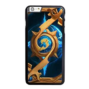 Custom made Case,World of WarCraft-Hearthstone Alliance cardback PC Plastic Cell Phone Case for iPhone 6 6S 4.7 inch,Black Case With Screen Protector (Tempered Glass) Free S-6634497