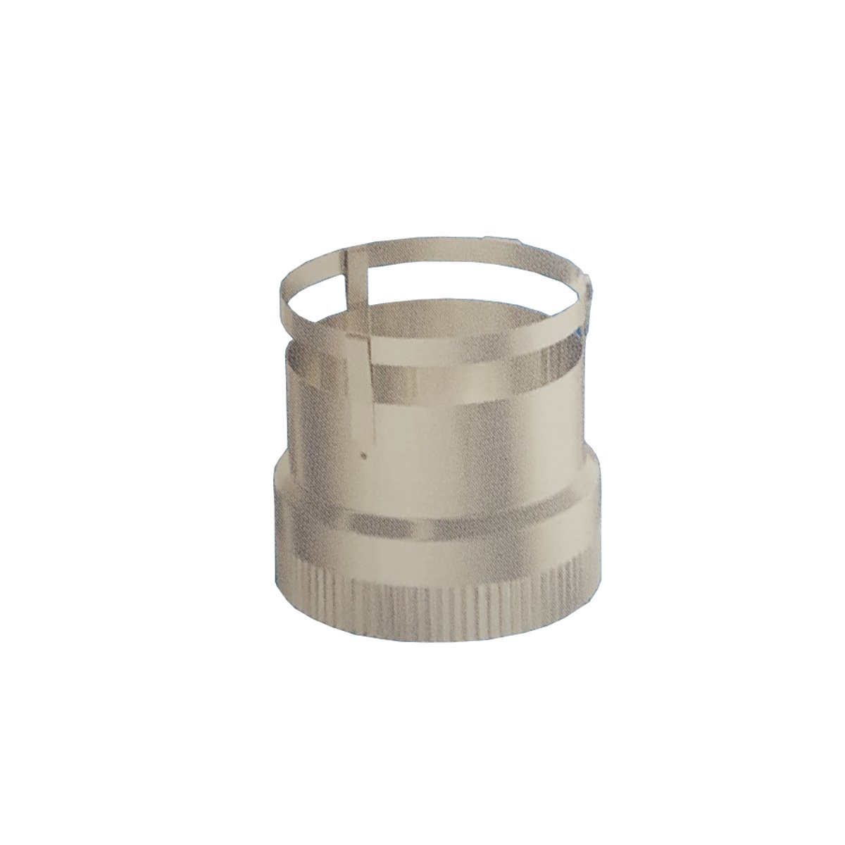 Rockford Chimney Supply Flexible Chimney Liner Reducer from 6 Insert to 5 Flexible Liner
