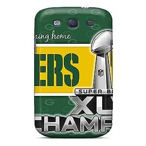 Shock Absorption Hard Phone Cover For Samsung Galaxy S3 With Customized Lifelike Green Bay Packers Series LisaSwinburnson