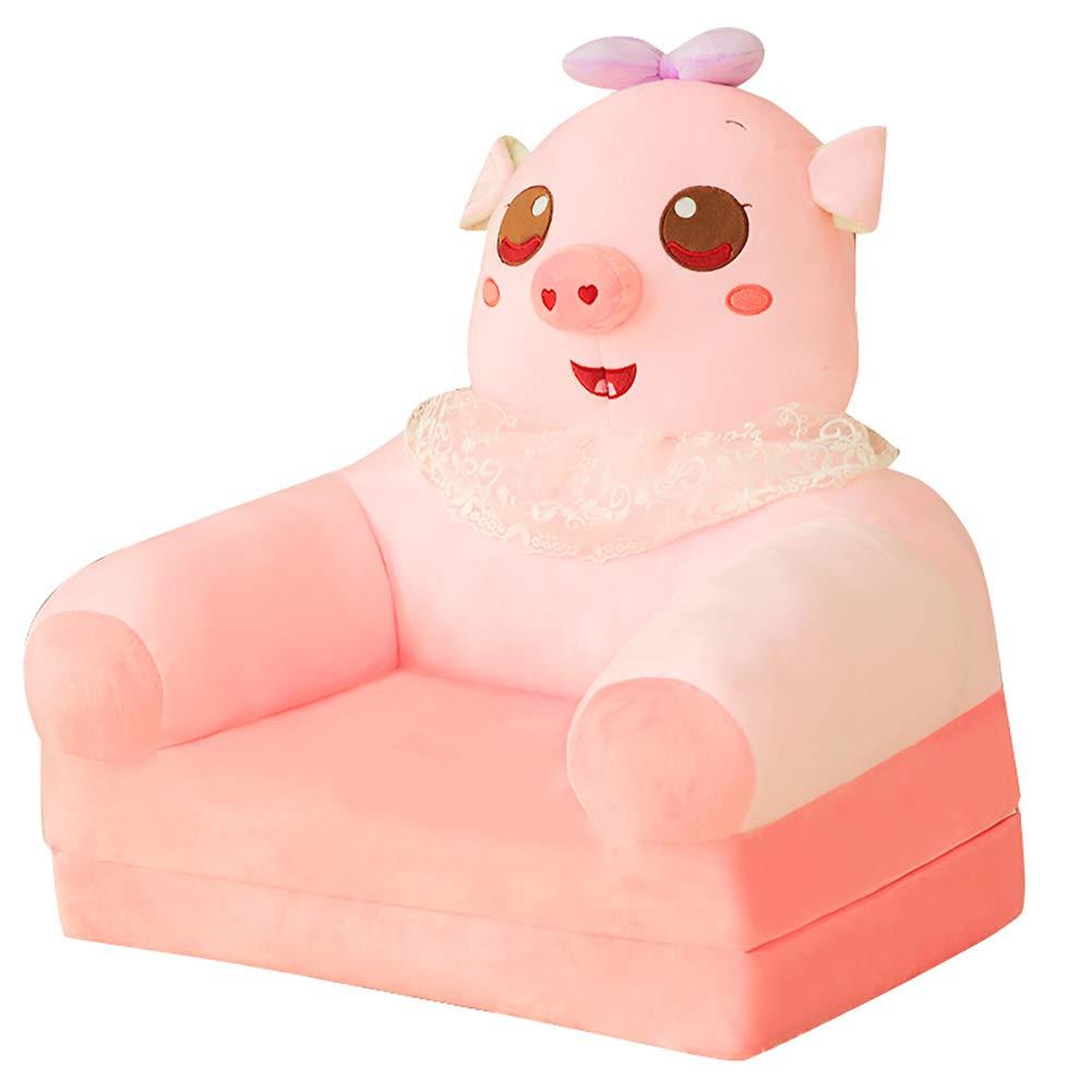 Amazon.com: Silla de animal de felpa dulce para niños, sofá ...