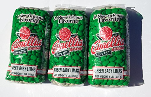 Black Eye Bean Soup - Camellia Green Baby Lima Beans 1 Lb (3pk)