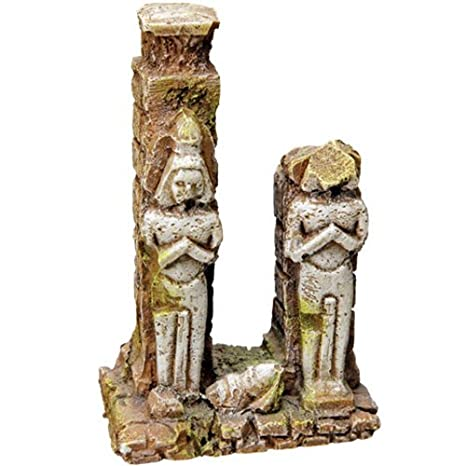 Pet Ting Ancient Egyptian Statue Ornament Decoration for Fish Tanks 21.5 cm