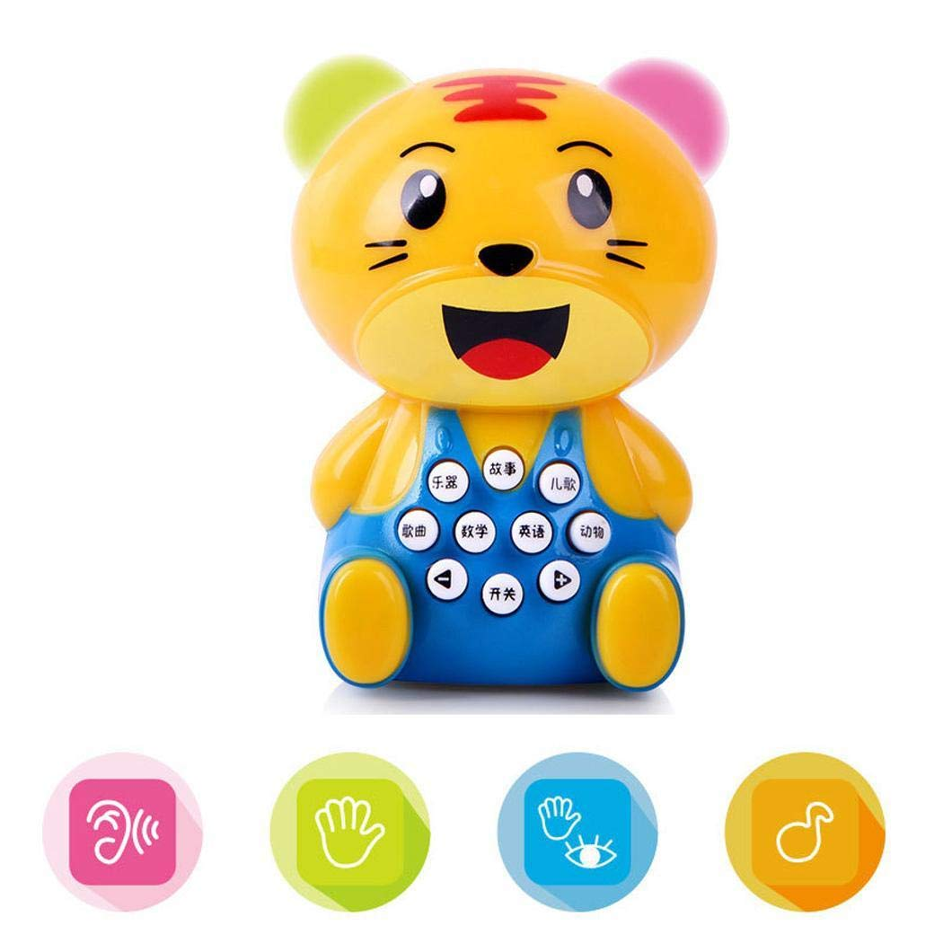 YENJO Mini Cartoon Children's Story Early Learning Machine Kids Education Toys Electronic Systems by YENJO (Image #2)