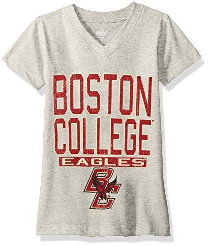 NCAA Boston College Eagles Children Girls V-Neck Short sleeve ()