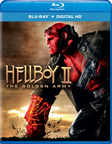 Blu-ray : Hellboy II: The Golden Army (Ultraviolet Digital Copy, Snap Case, Digital Copy, Digitally Mastered in HD)
