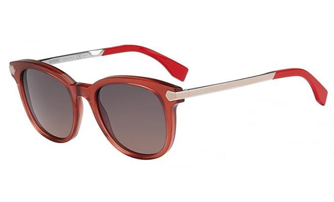 Amazon.com: Fendi anteojos de sol Para Mujer ff0021/S 100 ...