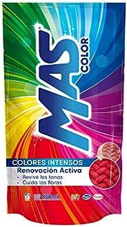 MAS Color Renovación Avanzada Detergente Líquido, 830 ml 11 cargas, blanco
