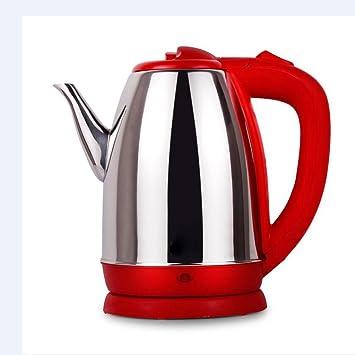 Elektrischer Wasserkocher Edelstahl Wasserkocher Schnelle Wasserkocher  Teekanne 1,8 Rot Gelb Kaffee Blau Küche Zimmer