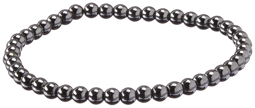 Stacy Adams Men's 49132 4mm Hematite ID Bracelet, Bronze