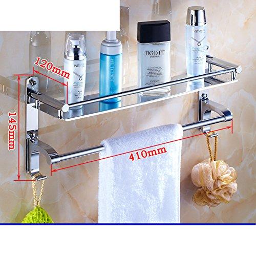 Bathroom stainless steel rack/Bathroom toilet wall thickening widening/ bathroom shelves-bathroom-L 50%OFF