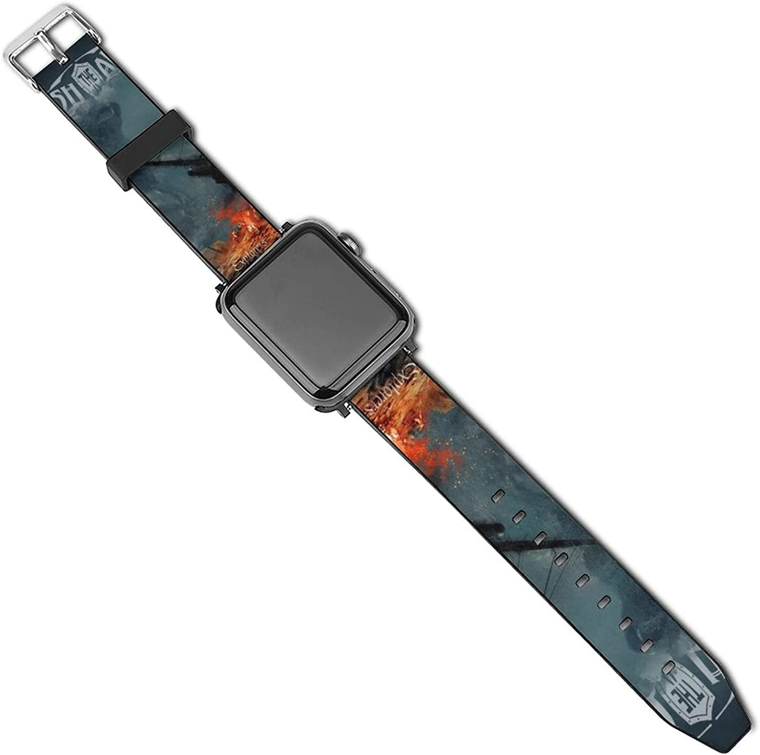 Unleash The Archers Bands Compatible With Apple Watch , Silicone Fadeless Pattern Printed Replacement Bands For Iwatch Series 5/4/3/2/1 For Women