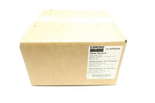 DAYTON 6PNV7A Float Switch 115//230V-AC