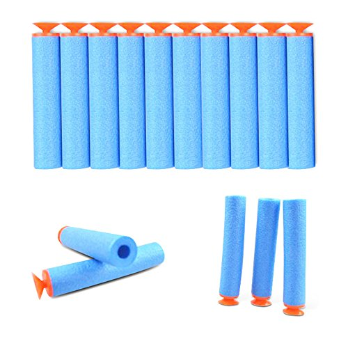 stillcool-still-100-pcs-72cm-foam-darts-for-nerf-n-strike-elite-series-light-blue-suction-cup