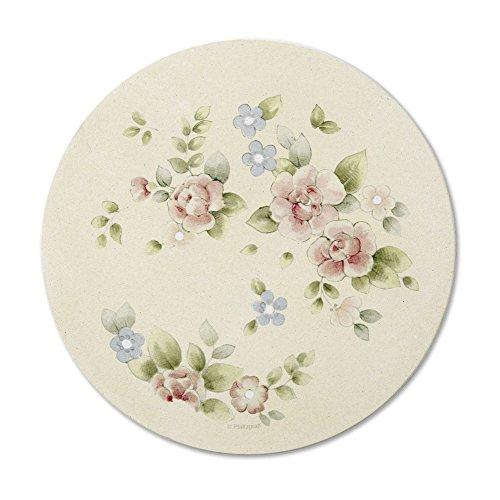 - Pfaltzgraff Tea Rose Stone Trivet, 6-1/2-Inch