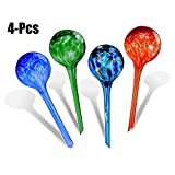Watering Globe, Fansport Watering Bulb Glass Automatic Watering Ball Bulb for Plant