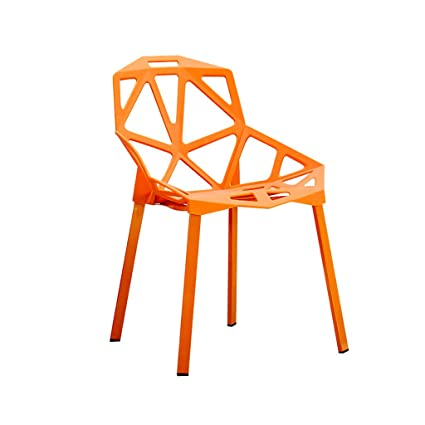 Amazon.com - Chair Dining Chair, ins Chair Back Home Modern ...