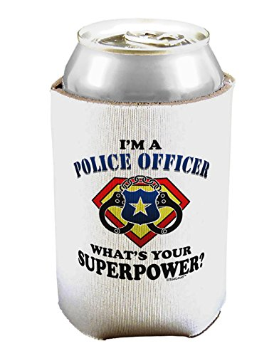 TooLoud Police Officer - Superpower Can / Bottle Insulator Cooler - 1