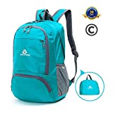JinshiWQ 25L Hiking Daypack for Women, Foldable Lightweight Durable Hiking Daypacks