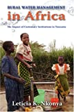 Rural Water Management in Africa, Leticia K. Nkonya, 1604975377