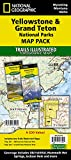 Yellowstone and Grand Teton National Parks [Map Pack Bundle] (National Geographic Trails Illustrated Map)