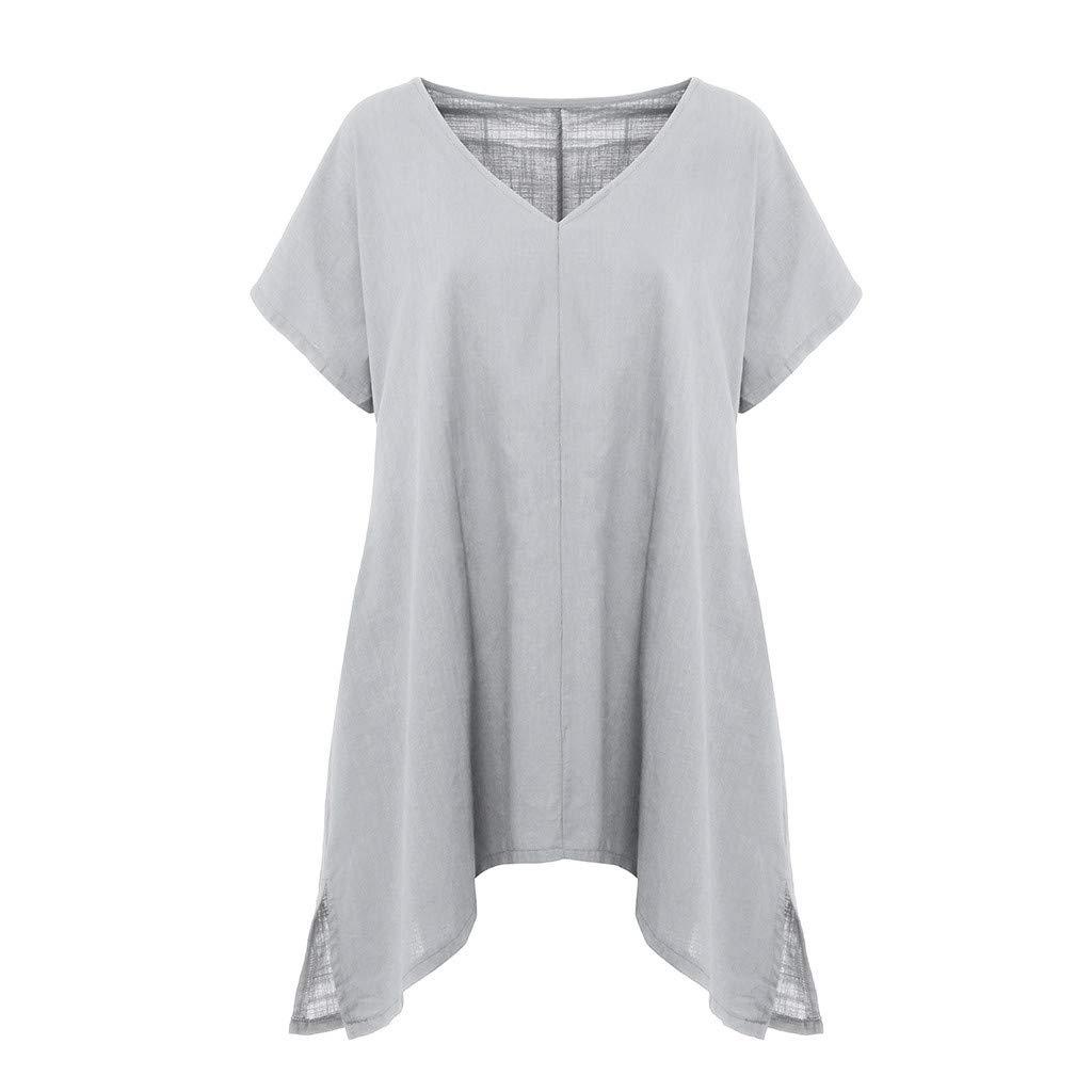 HIRIRI Womens Tops Dress for Women Bikini Tees Short Sleeve Shirts T-Shirt Tank Crop Top V-Neck