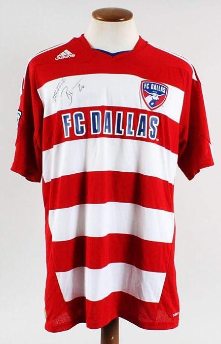 8b7a0716d Brek Shea Signed Jersey MLS FC Dallas - COA - Autographed Soccer Jerseys