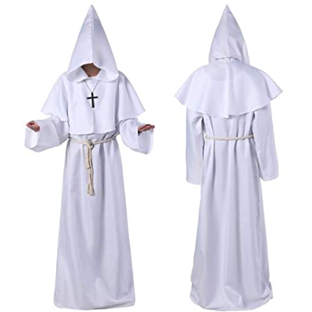 XIONGDA Disfraz de Cosplay de Halloween Traje de Monje de ...