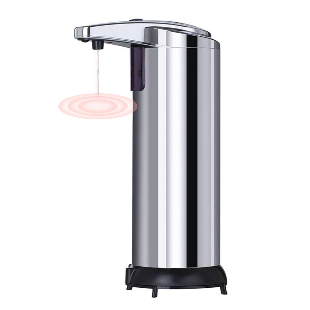 PDR-Automatic Soap Dispenser, Stainless Steel Non-contact Type 250ML Intelligent Sensor Soap Dispenser Others