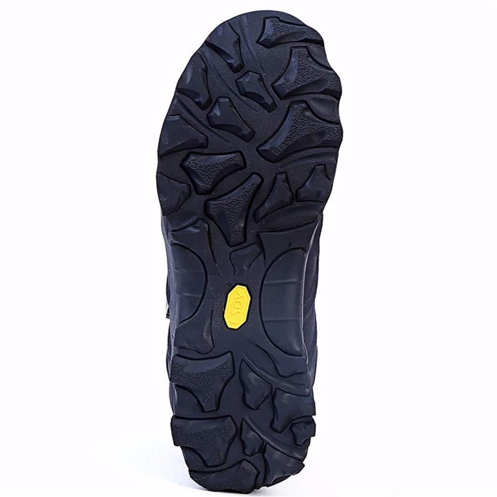 Hombre Senderismo Botas Turismo Senderismo Zapatos de Caza Antideslizantes Zapatillas de Escalada al Aire Libre para Hombre