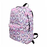 Meolin 3D Printing Travel School Backpack Shoulder Bags for Teenagers Girls,90,11.415.5116.53inch