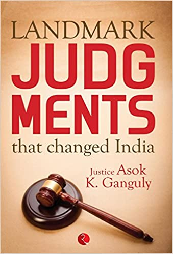 Landmark Judgments That Changed India Book