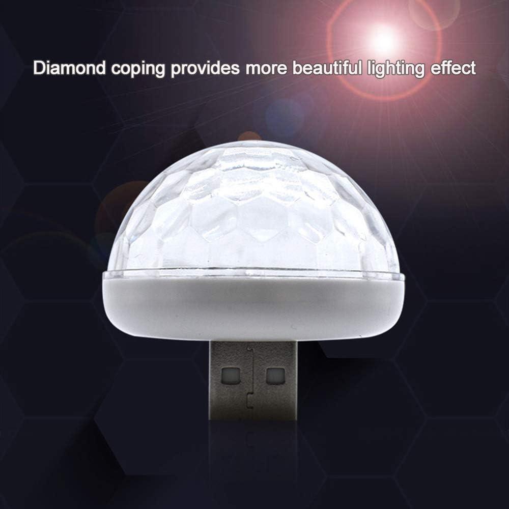 Leepesx Lampe de musique de d/écoration d/écoration de lumi/ère de n/éon color/é LED atmosph/ère int/érieure de voiture USB