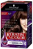 chestnuts Schwarzkopf Keratin Color Anti-Age Hair Color Cream, 5.7 Chestnut Brown (Packaging May Vary)