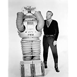 Lost in Space Featuring Jonathan Harris, Bob May 8x10 Promotional Photograph