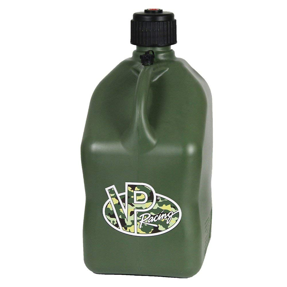 4 Pack VP 5 Gallon Square Camo Racing Utility Jugs