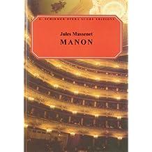 Manon: Vocal Score